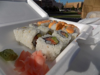 Spicy California Roll Sushi