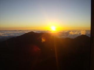 Crater Sunrise