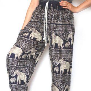 Pants with Elephants