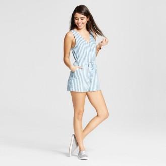 https://www.target.com/p/women-s-stripe-button-up-tie-waist-romper-le-kate-juniors/-/A-52390193#lnk=newtab&preselect=52183705